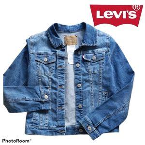Levi's Kids Jean Jacket Size Large